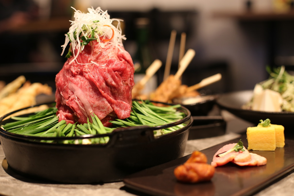 $238嘆富士山涮涮牛肉鍋/雜錦天婦羅/安格斯牛粒串燒