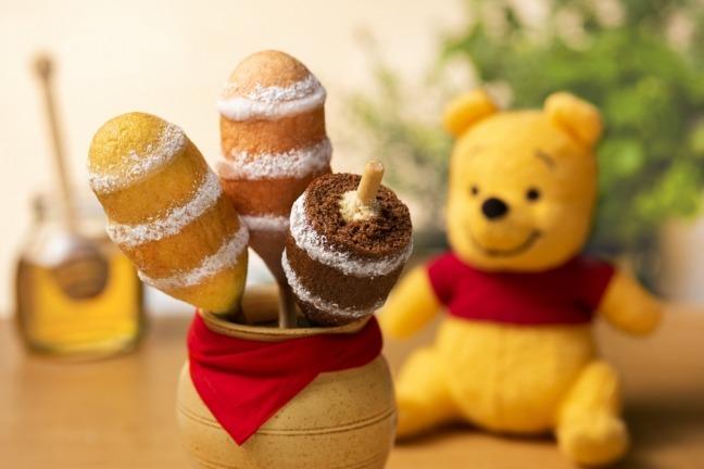 日本東京香蕉聯乘迪士尼 推出小熊維尼年輪蛋糕/米奇夾心餅