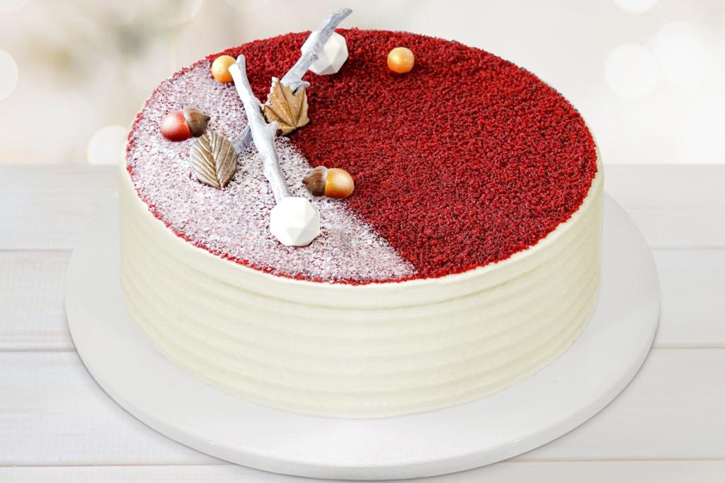 Lady M 聖誕紅絲絨蛋糕