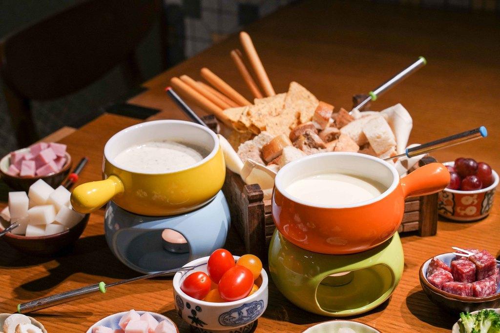 【佐敦美食】佐敦普慶餐廳日式松茸芝士火鍋下午茶自助餐 任食梳乎里班戟/刺身丼/紫薯撻