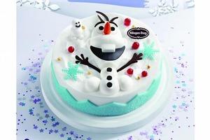 【Häagen Dazs】Häagen Dazs全新聖誕雪糕蛋糕系列 《FROZEN 2》小白雪糕蛋糕首度登場
