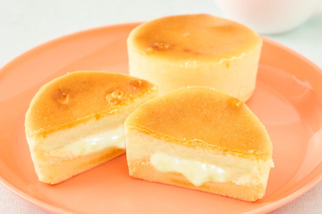 日本Lawson便利店推出新甜品 流心芝士蛋糕/烤蛋糕
