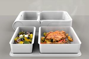 【自動加熱飯盒】美國初創公司推智能自動加熱飯盒NEOVEN 遙控加熱/迷你雪櫃/榨汁攪拌/迷你水煲茶煲