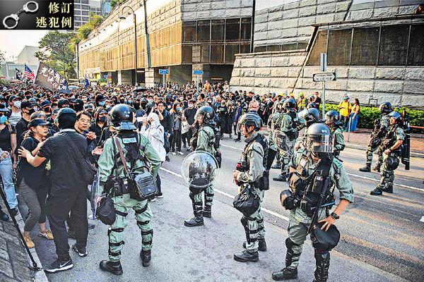 周六日衝突 警拘58人 6月至今共5947人被捕