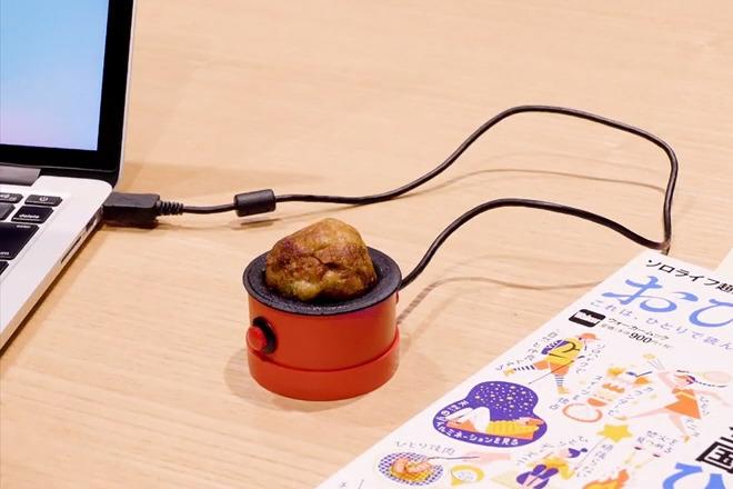 【自己食飯】插USB就用得!沒有最毒只有更毒  一人章魚小丸子機