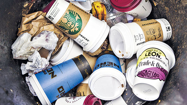 愛爾蘭擬徵「拿鐵稅」 鼓勵減用即棄咖啡杯