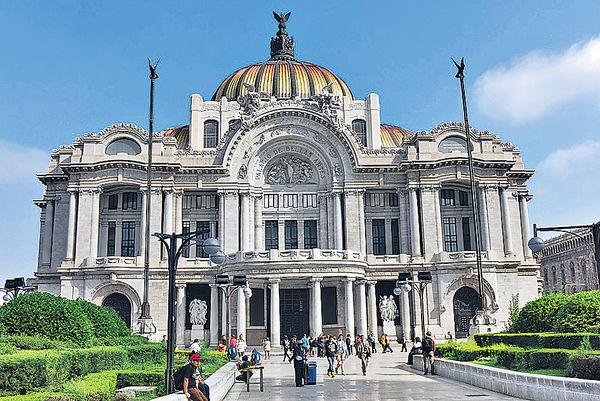 墨西哥城的藝術宮