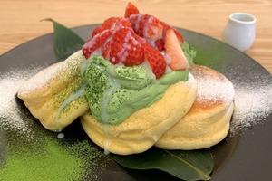 【沙田美食】日本過江龍班戟店A Happy Pancake登陸沙田新城市 限定供應日本士多啤梨宇治抹茶煉奶班戟
