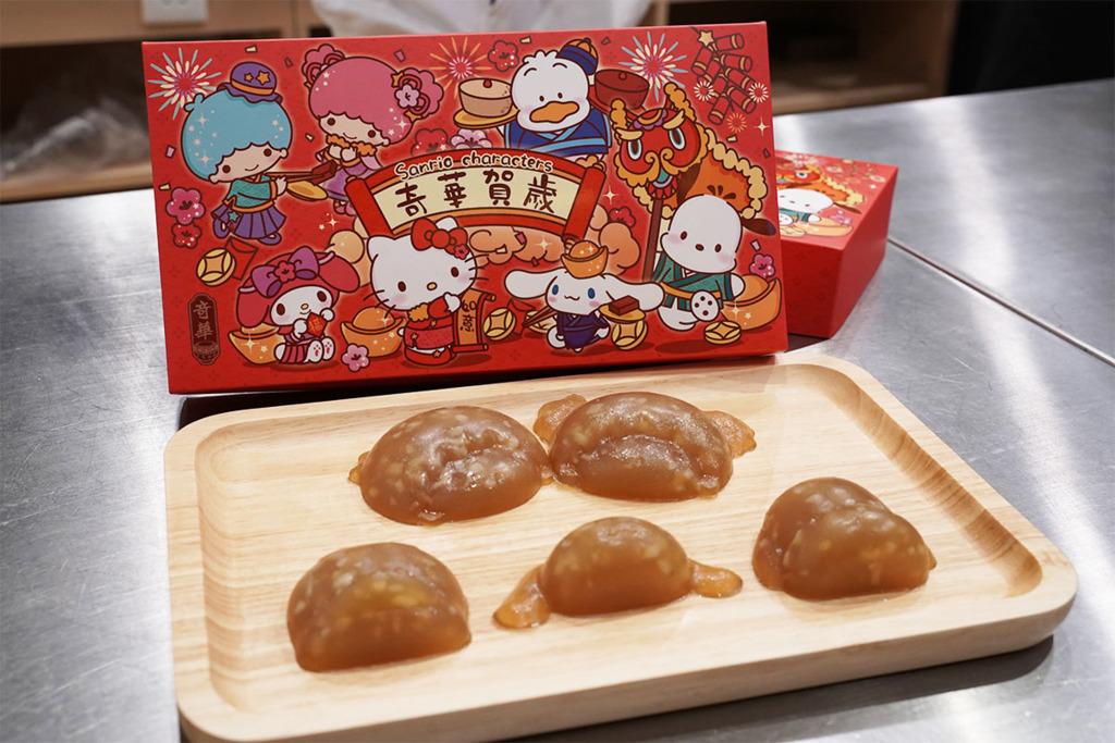 【灣仔美食】灣仔奇華工作坊推Sanrio卡通賀年糕點班  Hello Kitty蘿蔔糕/PC狗/AP鴨/Little Twin Stars立體馬蹄糕
