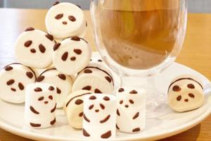 【日本Cafe 介紹】日本Cafe可愛打卡飲品 迷你雪人/熊貓棉花糖