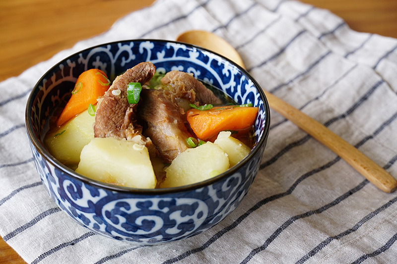 【中式食譜】暖笠笠懶人食譜一煲搞掂! 味噌馬鈴薯燉肉