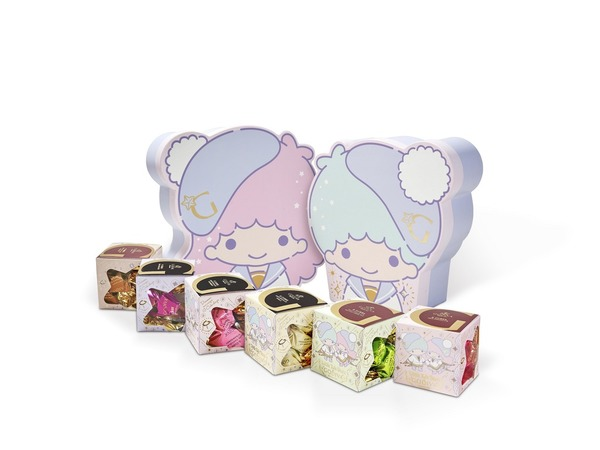 GODIVA x Little Twin Stars G Cube松露巧克力禮盒30顆裝(HK$459)