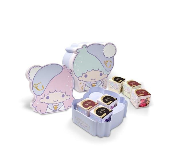 GODIVA x Little Twin Stars G Cube 松露巧克力禮盒各款G Cube松露巧克力5顆裝(HK$50)