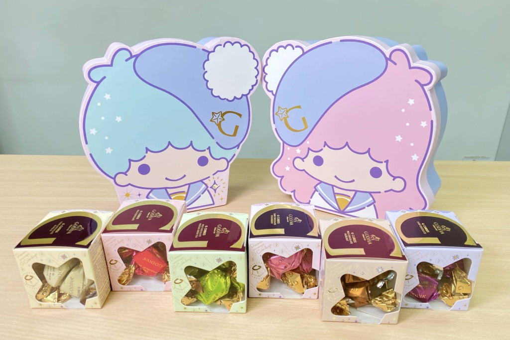 Little Twins Stars 45歲生日!GODIVA聯乘Little Twins Stars 推出松露巧克力系列限量禮盒