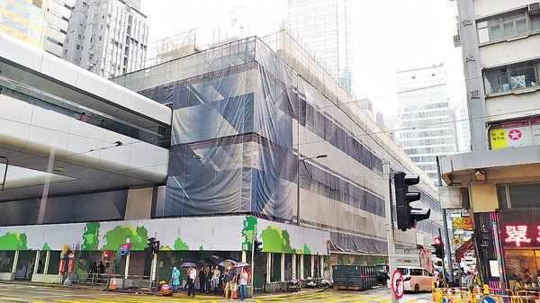 中環街市行人道 明起關閉修復 明年增「日本級」公廁
