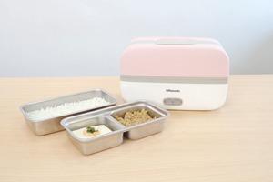 【加熱飯盒】打工仔帶飯恩物!Rasonic 迷你雙層蒸煮飯盒  仲可以抽真空食物盒