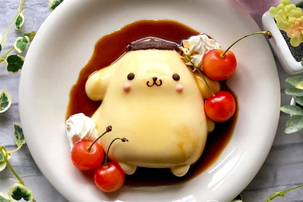 【布甸狗公仔】日人達人自家製多款布甸狗甜品 布甸狗百變造型超可愛!