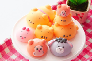 【Winnie the Pooh】小熊維尼蛋白餅輕鬆自家製 得意Pooh Pooh/小豬/跳跳虎/伊唷造型