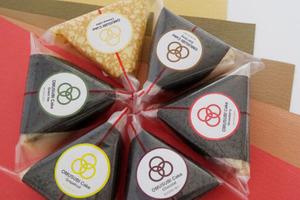 【日本美食】日本超有創意「OMUSUBI CAKE」飯糰蛋糕 芝士/伯爵茶/Tiramisu/朱古力共9款口味