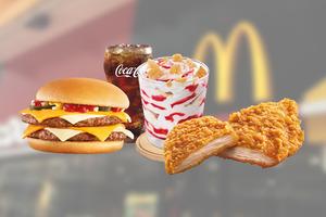 【麥當勞優惠】麥當勞一連8日快閃優惠新年登場!全日早餐/四重芝士孖堡回歸+$10麥樂雞