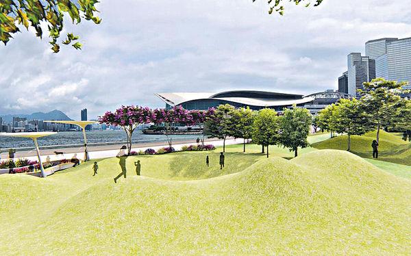 石塘咀海濱長廊「童樂園」 2021年有得玩
