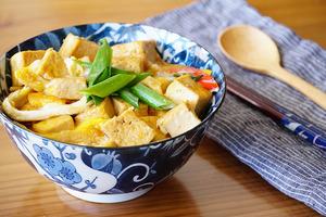 【中式食譜】低成本之選!高蛋白料理 紅燒滑蛋豆腐蓋飯