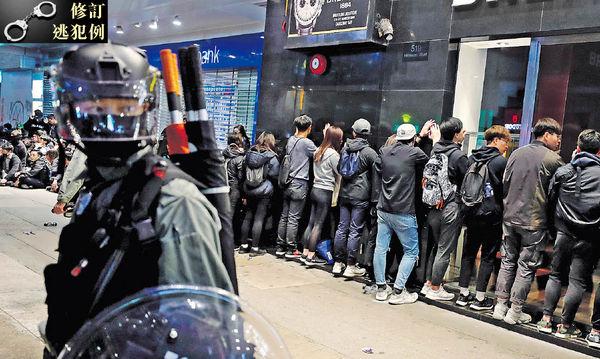 除夕元旦 警拘420人 最細12歲