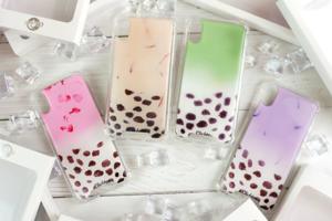 【女生禮物推薦】台灣推出珍珠奶茶手機殼 珍奶/香芋鮮奶/抹茶拿鐵造型