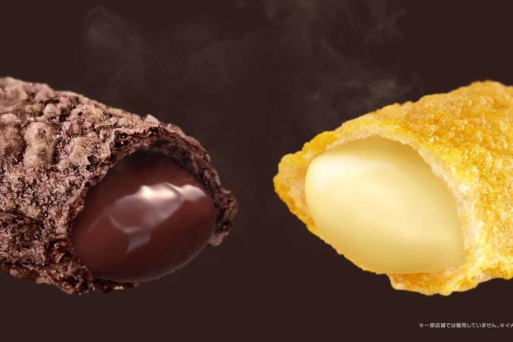 【日本麥當勞】日本麥當勞推出新批 半熟巴馬臣芝士/比利時朱古力流心批