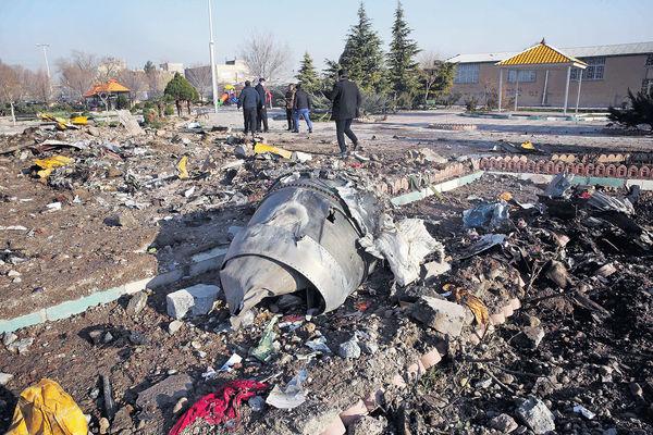 波音737墜伊朗 176人全罹難 疑引擎故障 非導彈擊中