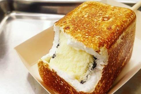 【韓國甜品】首爾人氣梳乎厘班戟專門店「tokyo souffle」 熱賣香甜即燒雪糕棉花糖!