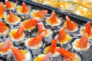 【台灣掃街】台灣特色章魚燒專門店「ONE-R」 墨魚/蟹棒鵪鶉蛋/多款口味