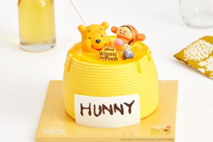 【Winnie the Pooh】韓國Baskin-Robbins期間限定 小熊維尼蜂蜜罐雪糕蛋糕