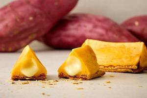 【日本甜品】日本人氣蕃薯甜品專門店「POGG」 熱賣即焗香甜流心蕃薯/紫薯批
