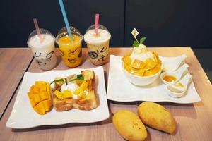 【北角美食】泰國人氣甜品Mango Mania登陸北角 打卡芒果Tea Set/大碗芒果冰/芒果糯米飯芭菲!