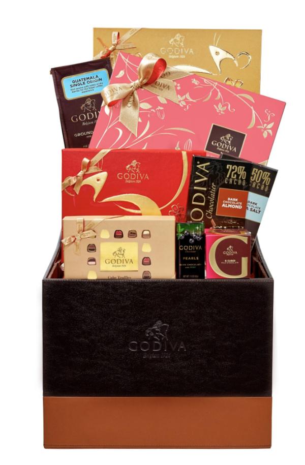 GODIVA新年限量巧克力 心悅禮籃 HK$2,480