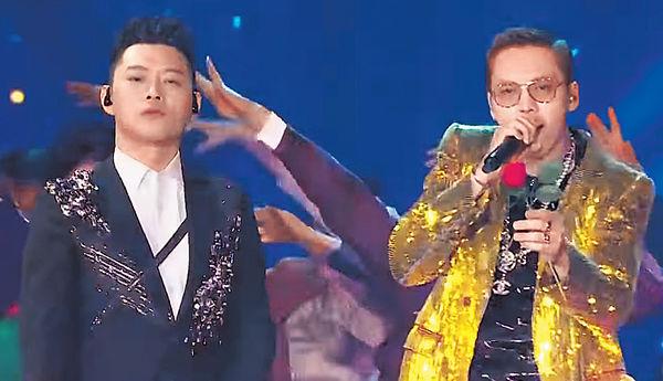 陳偉霆上春晚唱《過年Disco》