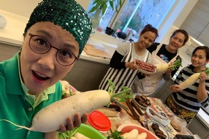 【新年2020】72歲汪明荃Liza姐潮玩IG Story教煮餸  公開分享製作蘿蔔糕食譜4大秘訣