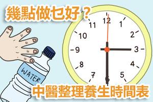 【武漢肺炎】凌晨3點要養肺氣!中醫養生時間表甚麼時候吃飯/睡覺對身體最好?