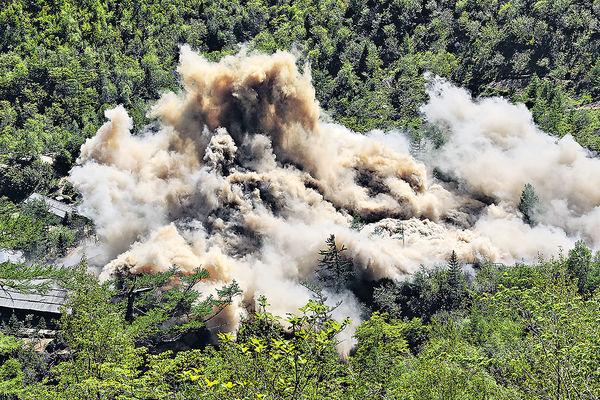 核試致地質不穩 北韓2.5級自然地震
