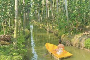 【曼谷Cafe】曼谷熱帶雨林Cafe免費玩划船 主打泰式奶茶千層蛋糕!