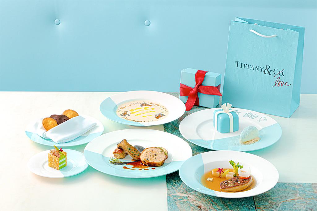 【情人節2020】尖沙咀Tiffany Blue Box Cafe推出情人節晚餐 限定迷你Blue Box蛋糕/香煎鵝肝/黑松露雞