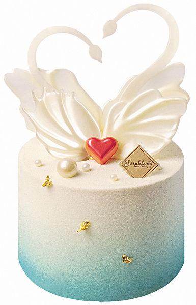 少女風 情人節限定蛋糕