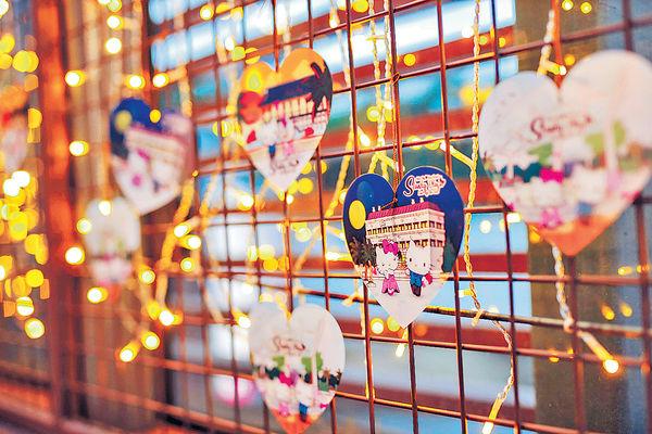 Hello Kitty同男友登陸赤柱 情人節歎美食兼打卡
