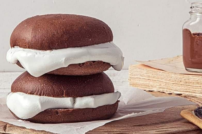 【韓國便利店】韓國便利店推出新甜品 朱古力棉花糖配Mozzarella芝士夾心麵包