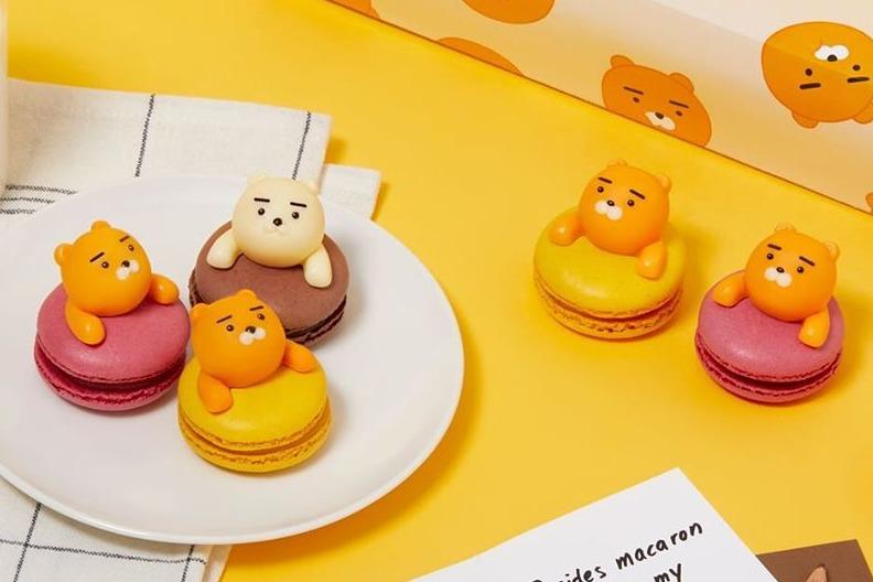 【KaKao Friends Ryan】韓國KaKao Friends情人節新搞作!Ryan立體造型馬卡龍/朱古力蛋糕