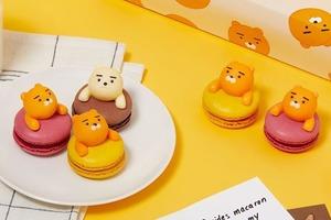 【Kakao Friends Ryan】韓國Kakao Friends情人節新搞作!推出Ryan立體造型馬卡龍/朱古力蛋糕