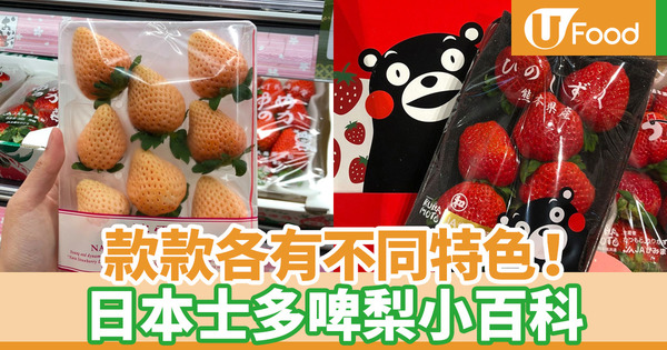 【士多啤梨季節】識食又識唔識分?6款香港常見日本士多啤梨品種