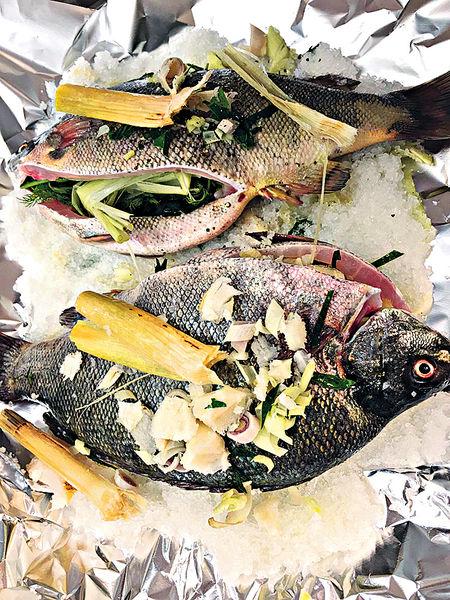 不復當年勇#鹽焗寶石魚