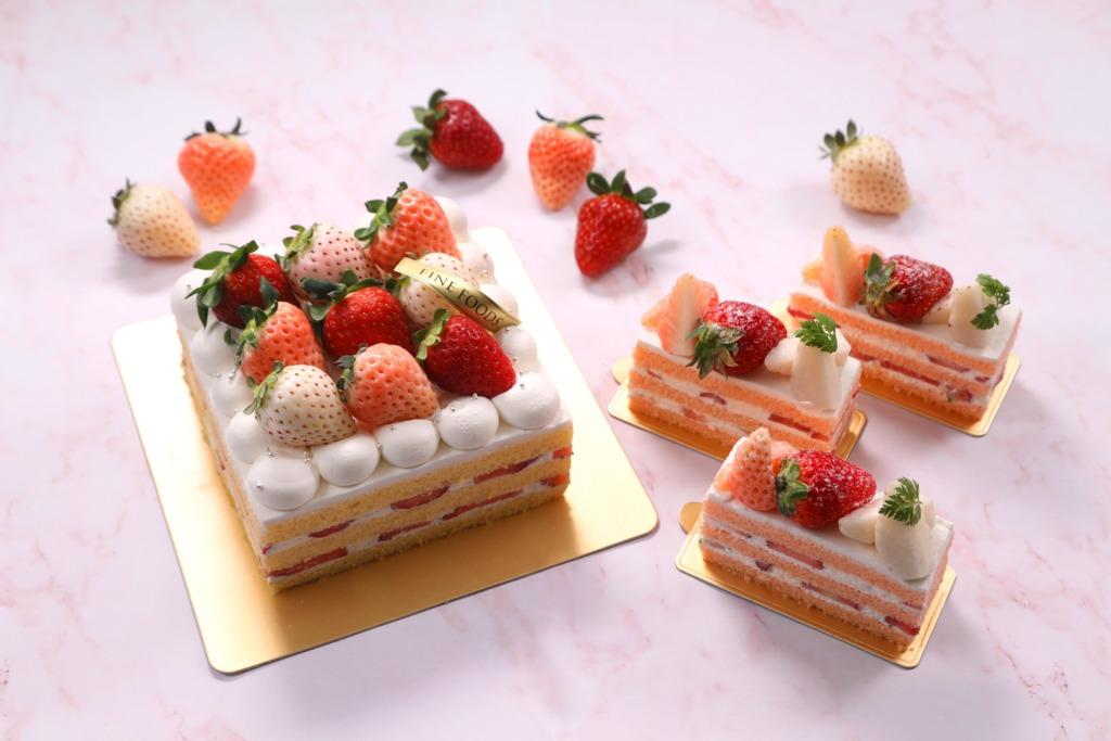 【尖沙咀美食】尖沙咀帝苑酒店全新季節限定甜品  日本奈良士多啤梨蛋糕/抹茶卷/芝士乳酪蛋糕